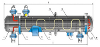 Теплообменные аппараты с неподвижными трубными решетками и температурным компенсатором ТУ 3612-024-00220302-01